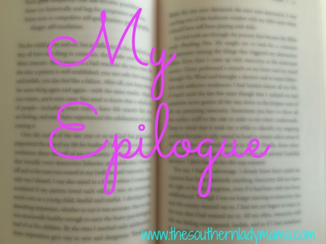 My Epilogue - SLM