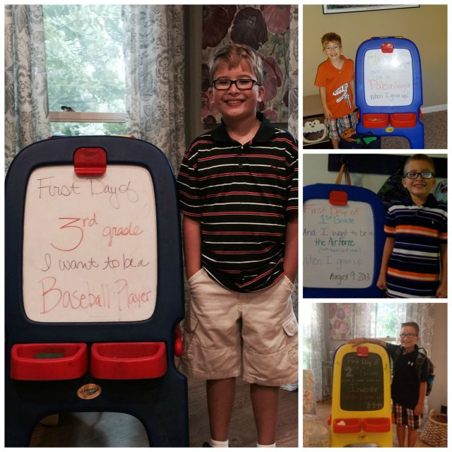 Ethan's First Days Collage