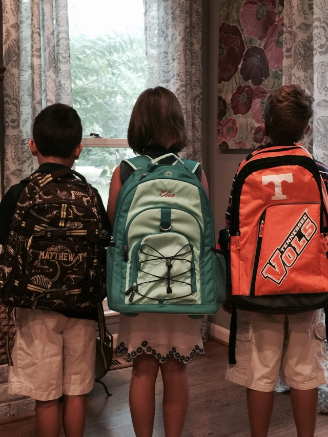 ready for school!