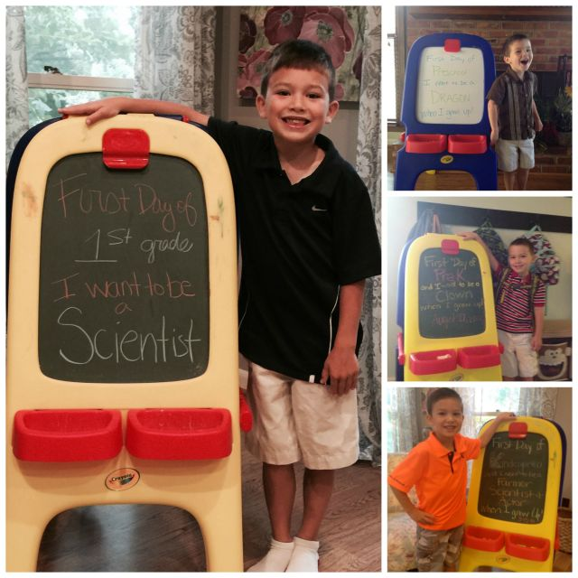 Matthew's First Days Collage
