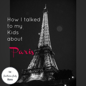 How I talked to my kids about Paris pic
